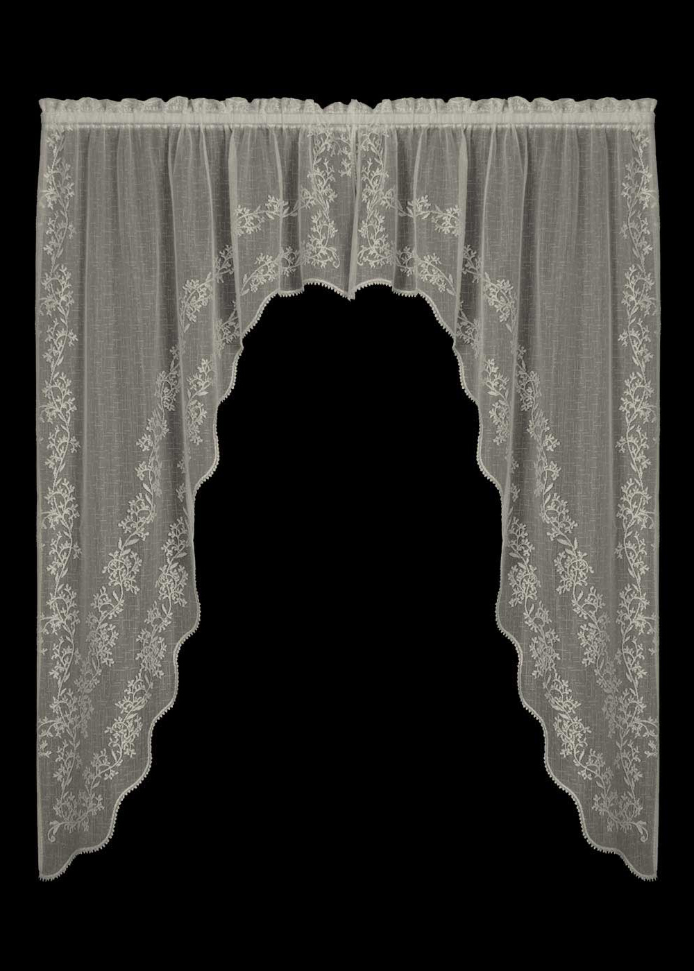 Heritage Lace Sheer Divine Swag 3 Colors