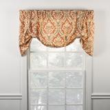 Ellis Curtain Donnington Lined Tie Up Valance - 3 Colors