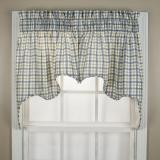Ellis Curtain Bristol Plaid Empress Valance - Colors