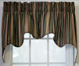 Ellis Curtain Montego Stripe Empress Valance - 2 Colors